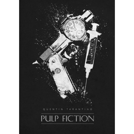 Affiche Film Pulp Fiction Artwall And Co