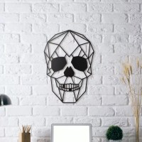 Skull Metal Wall Decoration - ArtWall and Co