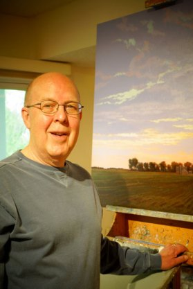 Richard Krogstad, Art Wander Artist