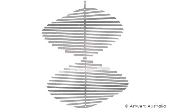 Round Twisty Wind Spinner
