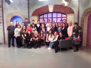 The entire crew and presenters again!