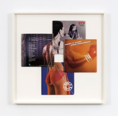 Christian Marclay, (Body Mix Series) , 1991 - album covers, thread