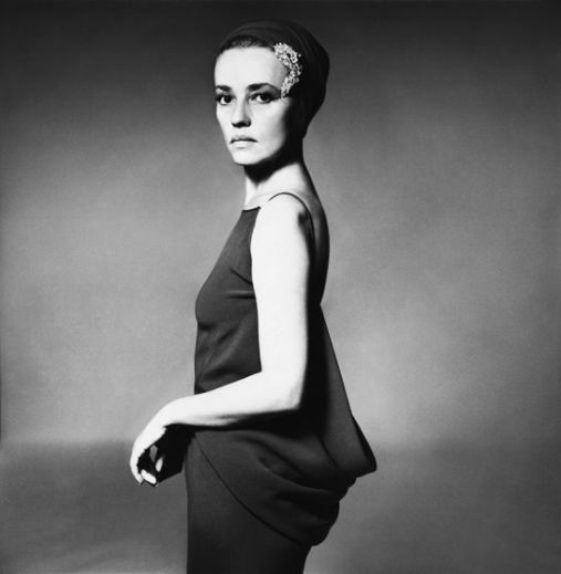 Jeanne Moreau, Paris, 1962 ©Richard Avedon Foundation