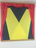 Generic bulletin board to display student work