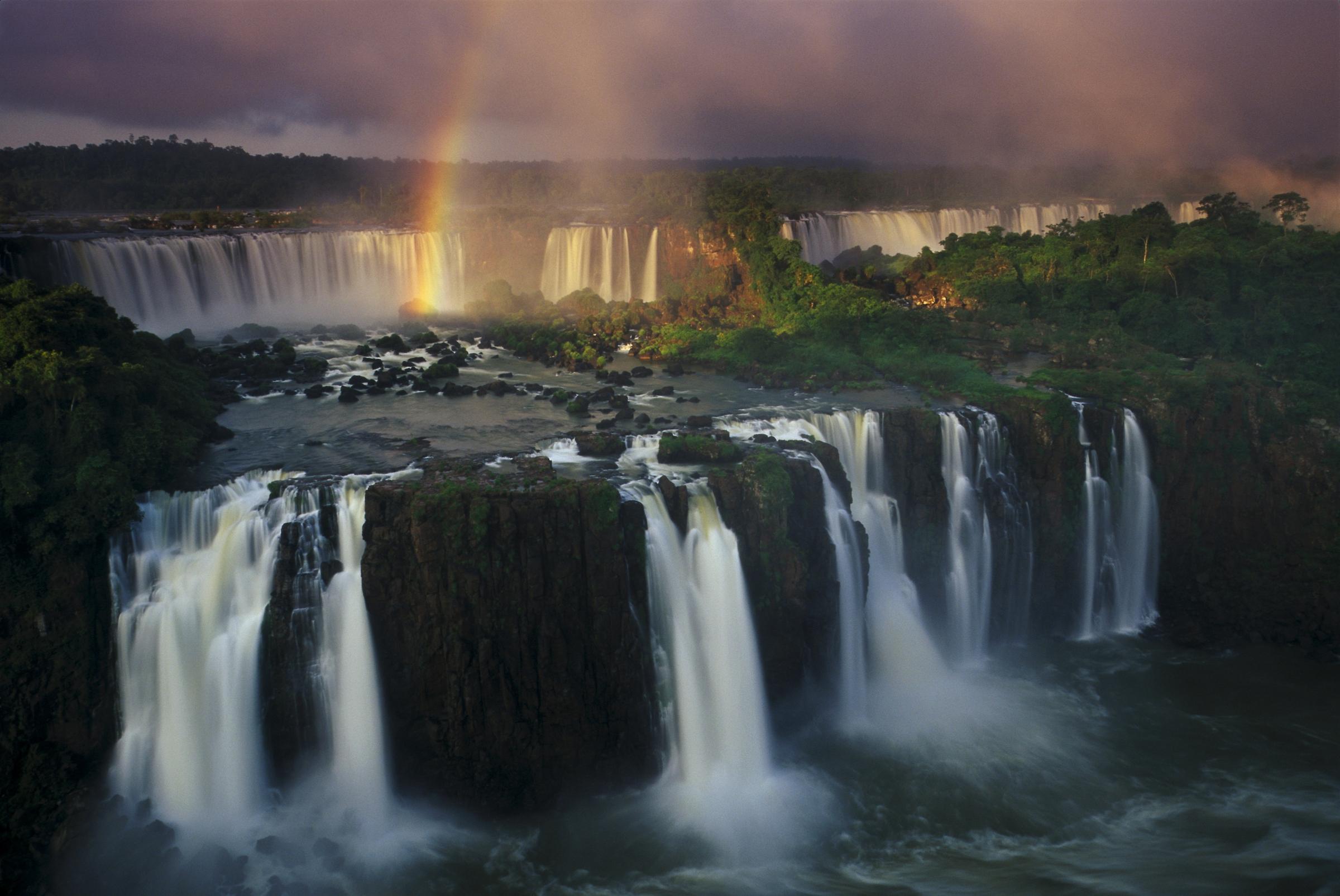 Iguazu Falls Desktop Wallpaper Iguaz 250 Falls Iguaz 250 National Park Argentina Art Wolfe
