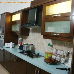 Wood Kitchen Table Sets Deep Sink Project At Bahria Town Lahore | Manufacturer