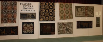 American Coverlet Museum and hooked rug designs