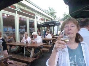Judith at Gabriel's Wharf