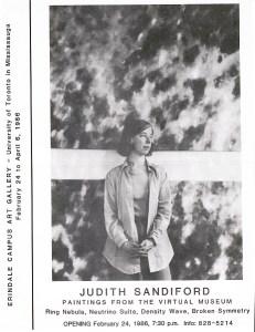 Judith Sandiford paintings at Erindale Art Gallery