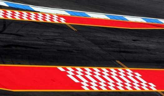 Racetrack -Start und Ziel