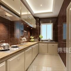 Top Kitchen Cabinets 4 Piece Table Set 厨房通过色差对比凸显橱柜主体 顶面石效果图 2019装修案例图片 新王者 顶面石