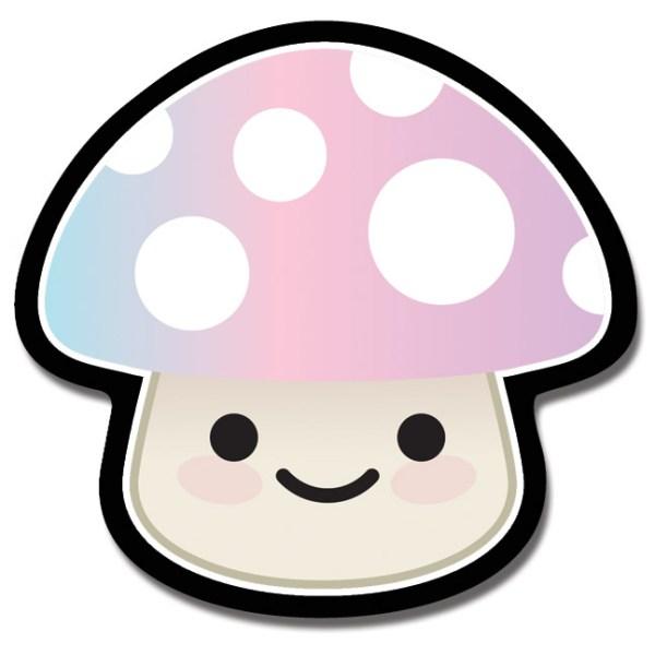 Magnet Mushroom Pink