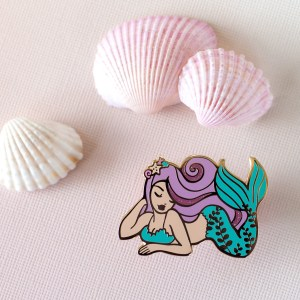 Mermaid Hard Enamel Pin
