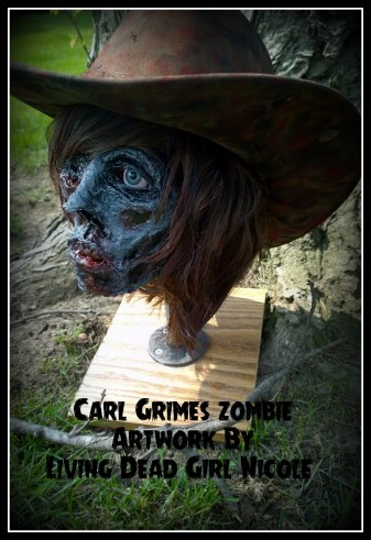 Carl Grimes Zombie 6