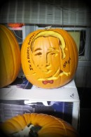 Pee Wee Herman Stencil and Carving done by Living Dead Girl Nicole