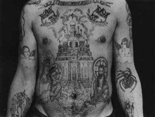 ロシアンマフィアの刺青