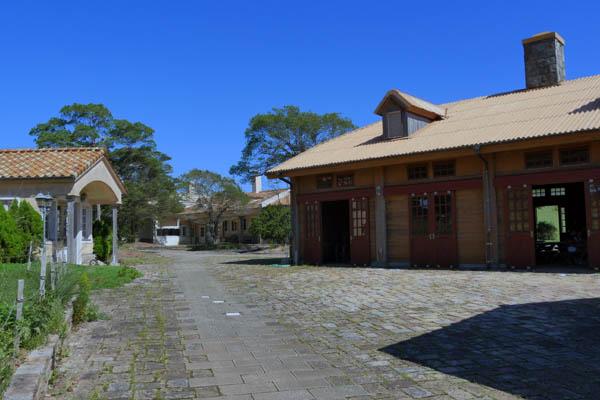 教室開催場所 村の休憩所
