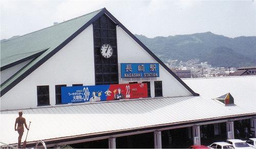 3代目駅舎(1992年8月)