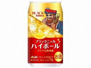 アサヒ ブラックニッカ ハイボール缶