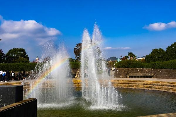 平和公園の虹