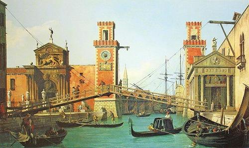 カナレット ベネチア運河