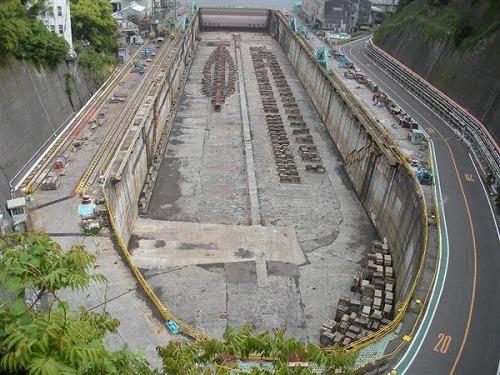 三菱長崎造船所(第三船渠)