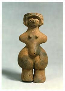 女性の土偶