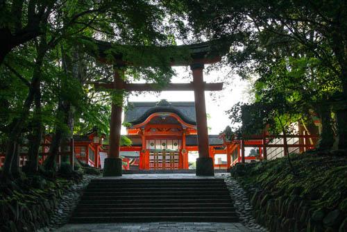 宗像神社、宇佐神社を巡る
