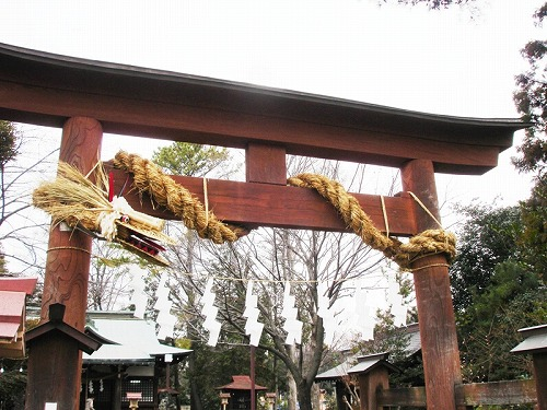 熊野神社・所沢市西新井町