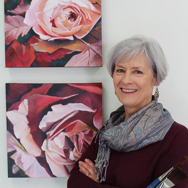 Sharon Lalonde artist ARTWRX Studio Gallery Courtenay BC