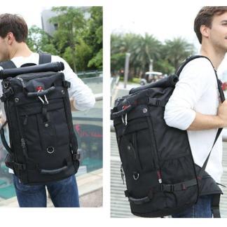 Рюкзак-дорожная сумка-чемодан ArtX модель 2070 Черный