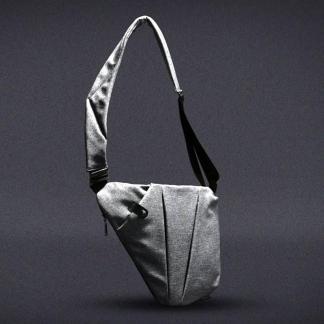 Сумка-мессенджер Cross Body Bag ArtX Style Серый #001T