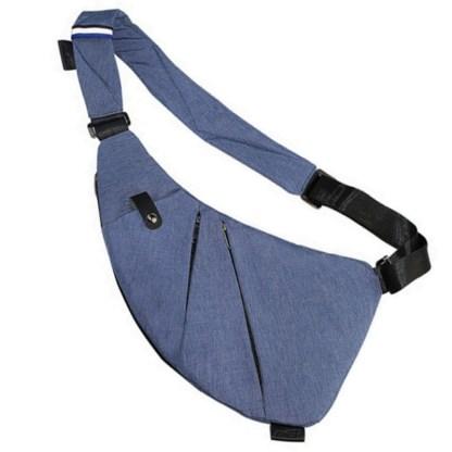 Сумка водителя-кобура-мессенджер Cross Body Bag ArtX Style Синий #049