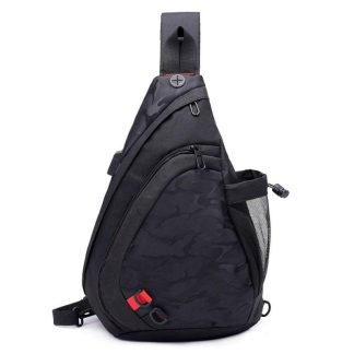 Рюкзак-сумка однолямочный ArtX Cross Body черный #095-1