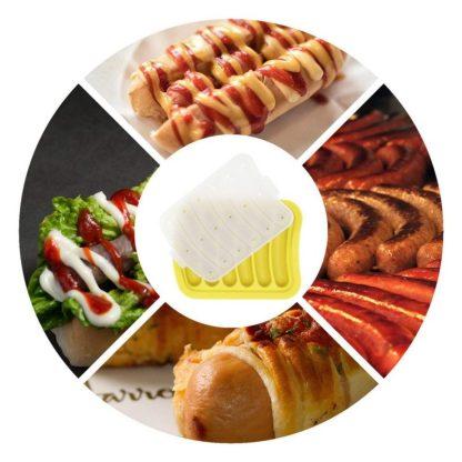 Силиконовая форма для сосисок кебабница  ArtX Kebab #401-4