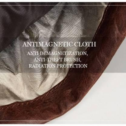 Кошелек кожаный c защитой ArtX RFID коричневый #181-2