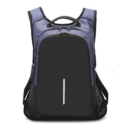 Рюкзак антивор ArtX Fort  USB 16 л синий #217-3