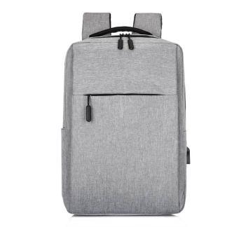 Городской рюкзак для ноутбука ArtX Minimalist-1  USB 17 л Серый #218-2