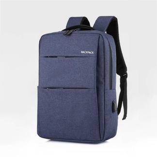 Рюкзак мужской ArtX Minimalist-2  USB 17 л Синий #219-3