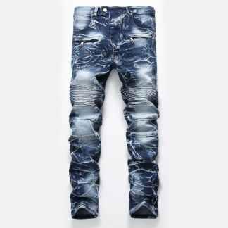 Джинсы мужские ArtX #703-1 синие