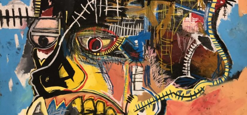 Jean Michel Basquiat (à la Fondation Louis Vuitton)