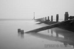 Misty Hornsea Groyne