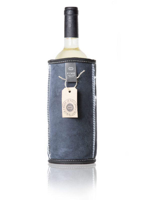 KYWIE wine cooler blue suede W02SU