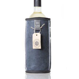 KYWIE wine cooler blue suede W02SU