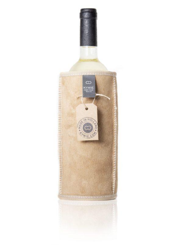 KYWIE wine cooler camel suede W01SU