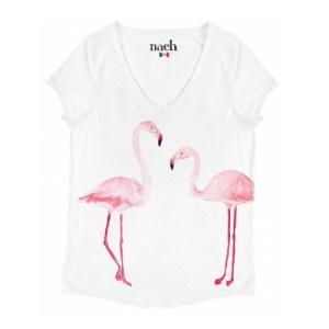 nach-t-shirt-coton-bio-col-en-v-flamants-roses-artydandy-1