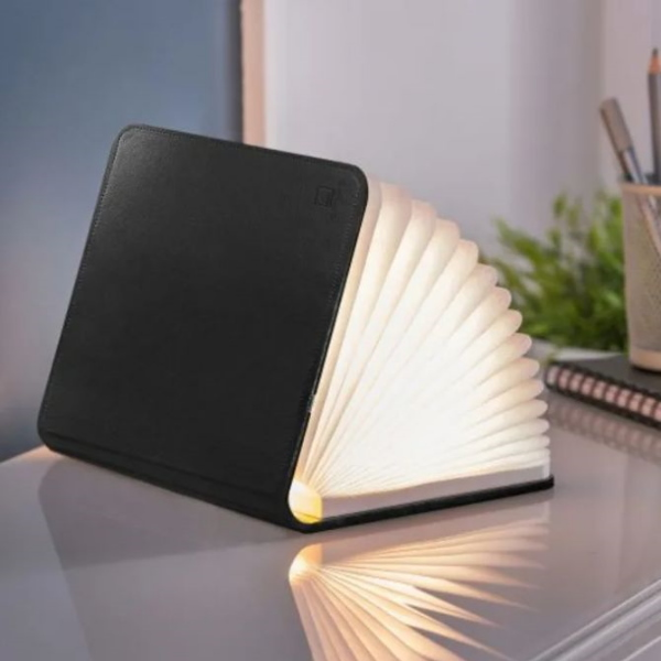 gingko-mini-lampe-format-carnet-A6-cuir-noir-artydandy