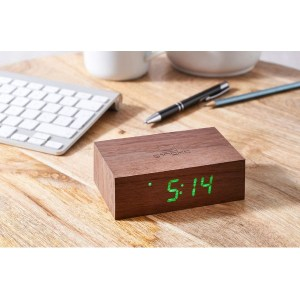 gingko-reveil-bois-erable-walnut-flip-click-clock-artydandy