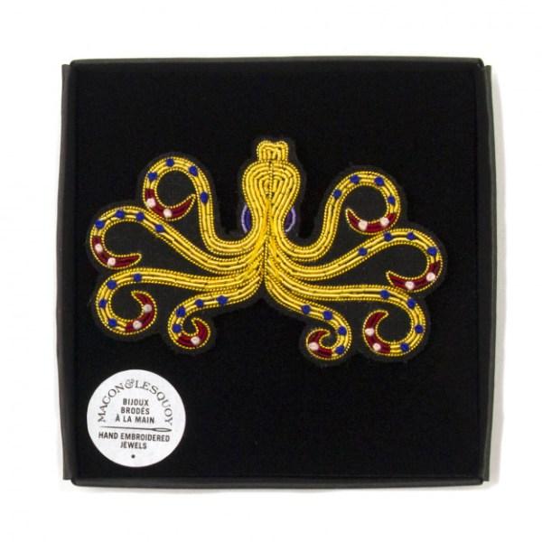 macon-et-lesquoy-broche-pieuvre-grecque-broderie-artydandy