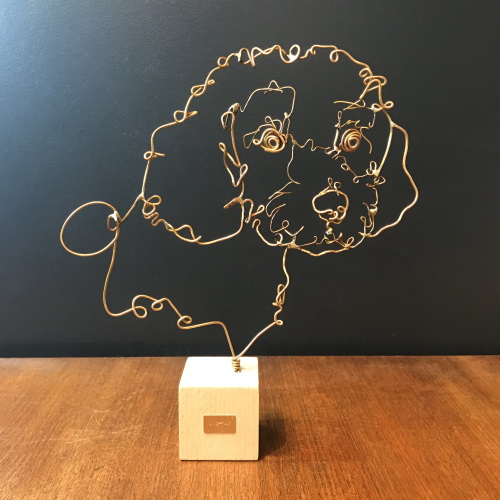 profilo-sculpture-fil-de-bronze-chien-maltese-artydandy